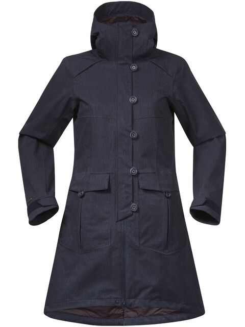 Bergans W's Bjerke Coat Dark Navy